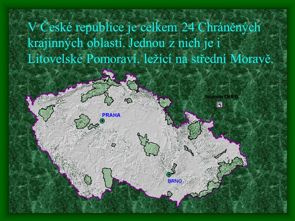 V České republice je celkem 24 Chráněných krajinných oblastí.