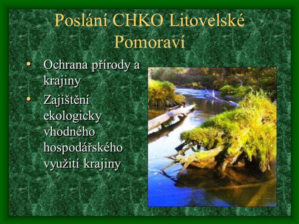 Rozloha CHKO Litovelské Pomoraví je 96 km2. Nadmořská výška oblasti je 210 m n.
