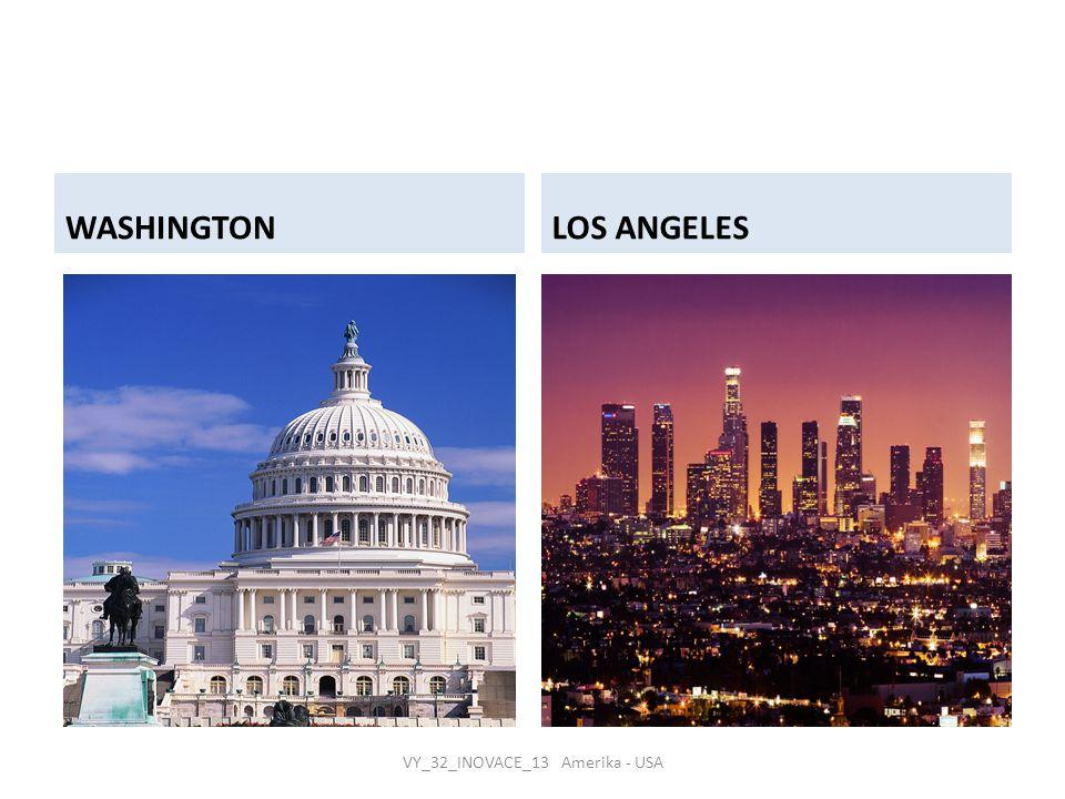 WASHINGTONLOS ANGELES VY_32_INOVACE_13 Amerika - USA