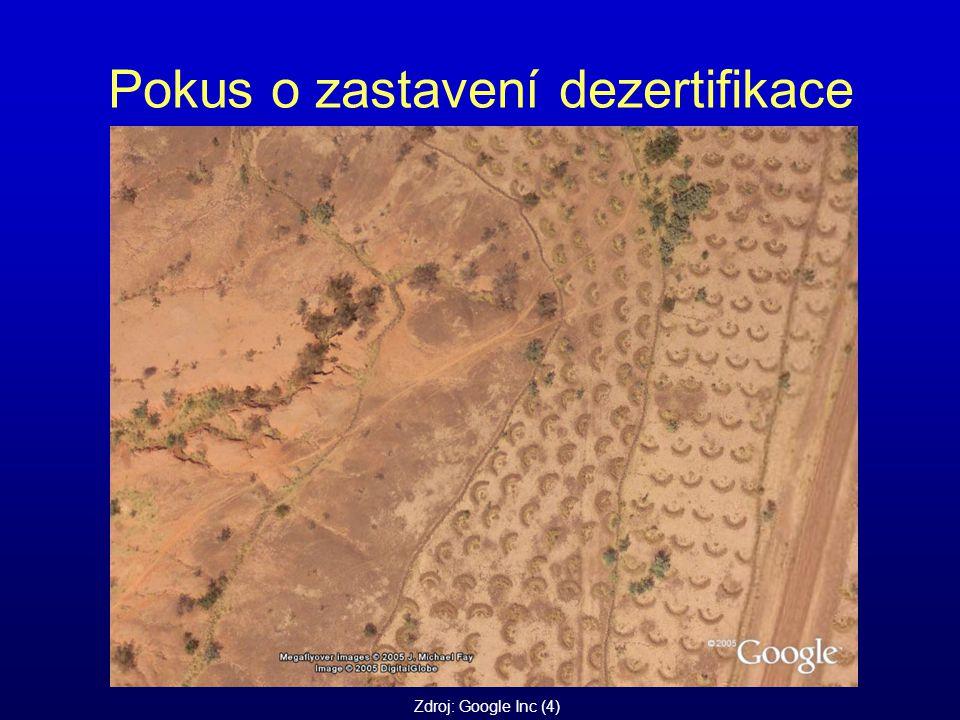Pokus o zastavení dezertifikace Zdroj: Google Inc (4)