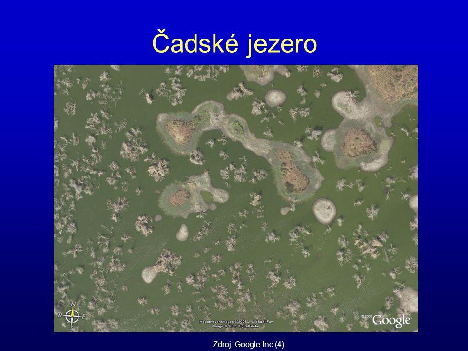 Čadské jezero Zdroj: Google Inc (4)