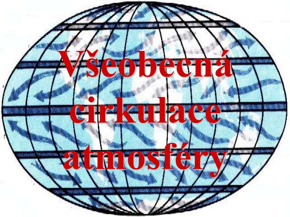 Schéma všeobecné cirkulace atmosféry