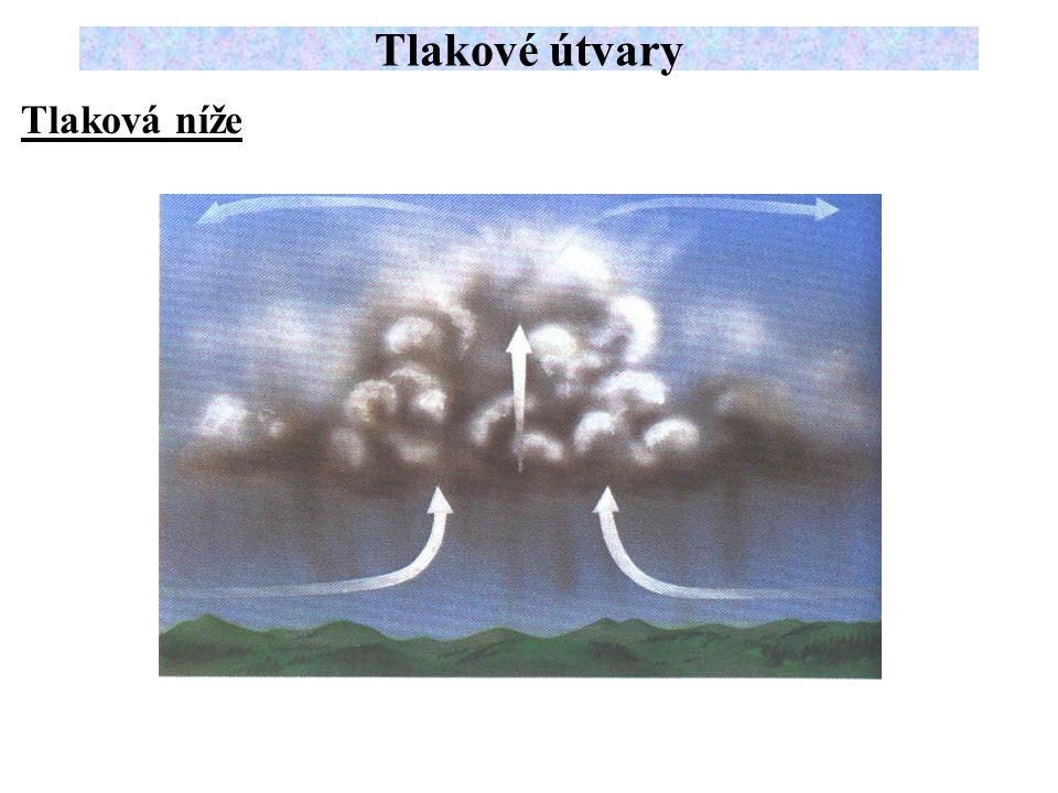 Tlaková níže Tlakové útvary