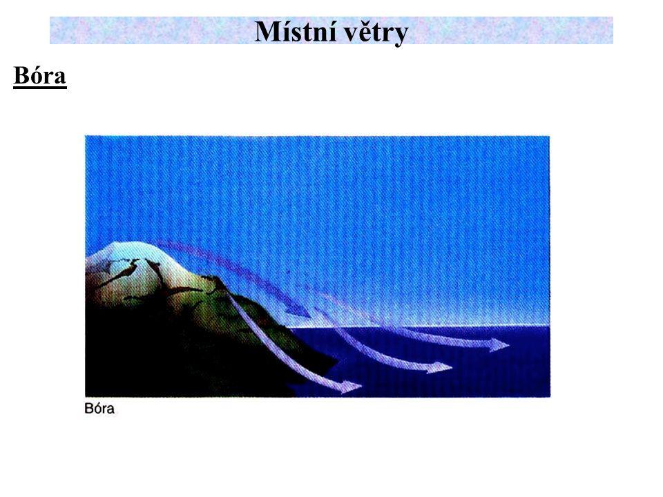 Bóra Místní větry