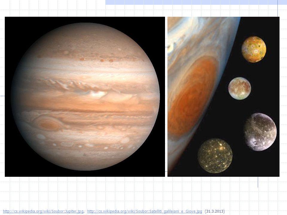 http://cs.wikipedia.org/wiki/Soubor:Jupiter.jpghttp://cs.wikipedia.org/wiki/Soubor:Jupiter.jpg, http://cs.wikipedia.org/wiki/Soubor:Satelliti_galileiani_e_Giove.jpg (31.3.2013)http://cs.wikipedia.org/wiki/Soubor:Satelliti_galileiani_e_Giove.jpg