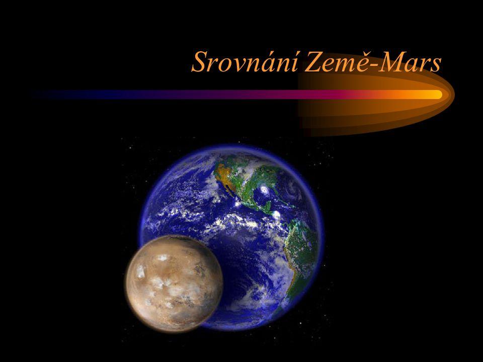 Srovnání Země-Mars
