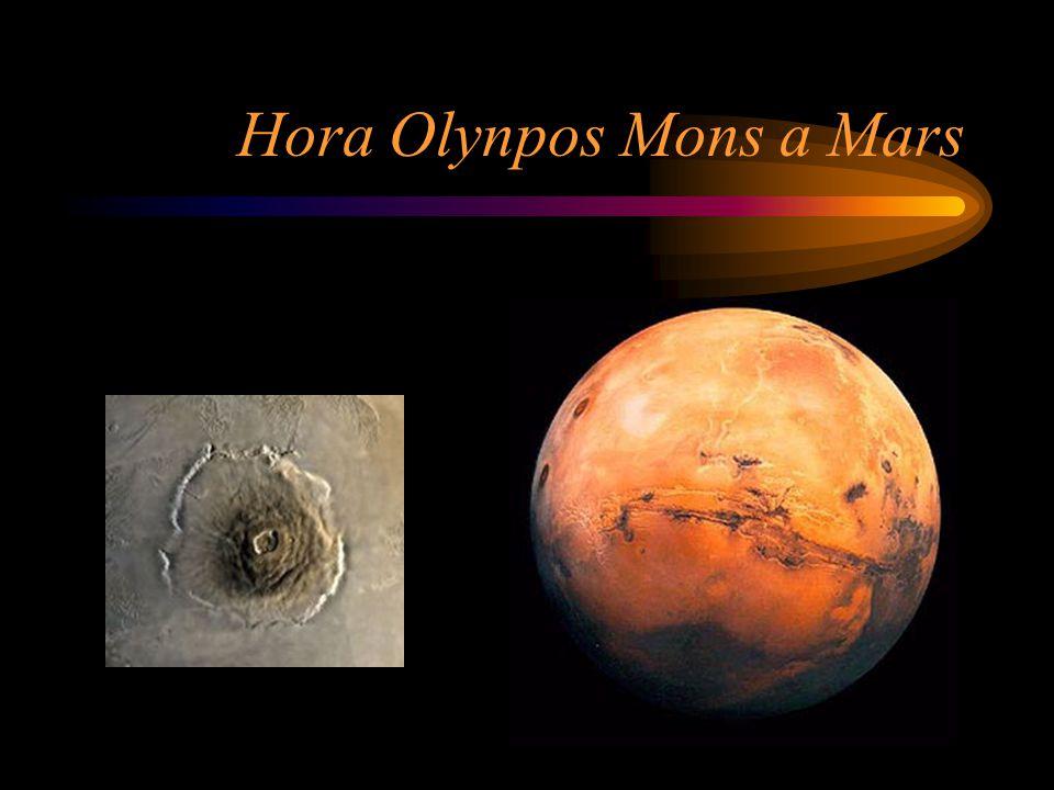 Hora Olynpos Mons a Mars