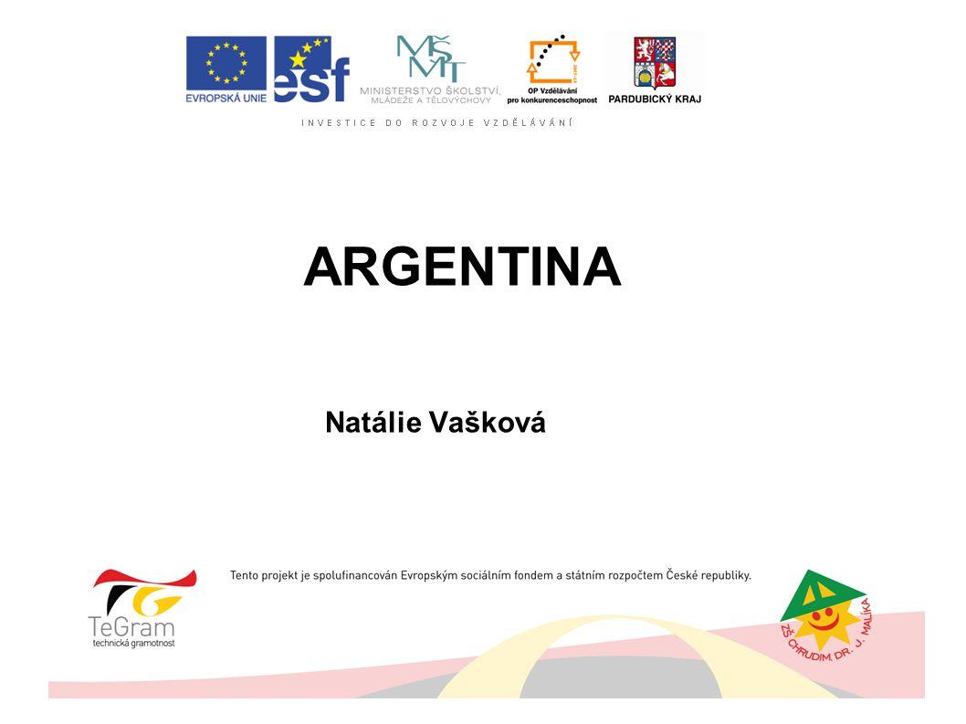 ARGENTINA Natálie Vašková