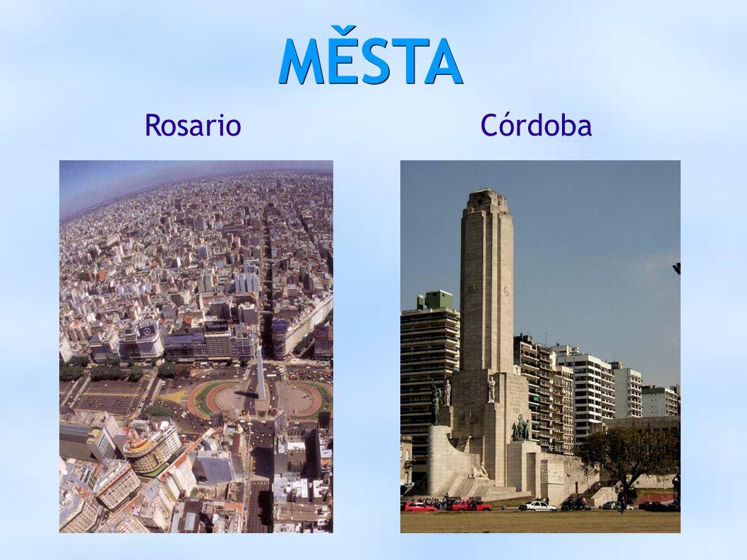 MĚSTA RosarioCórdoba