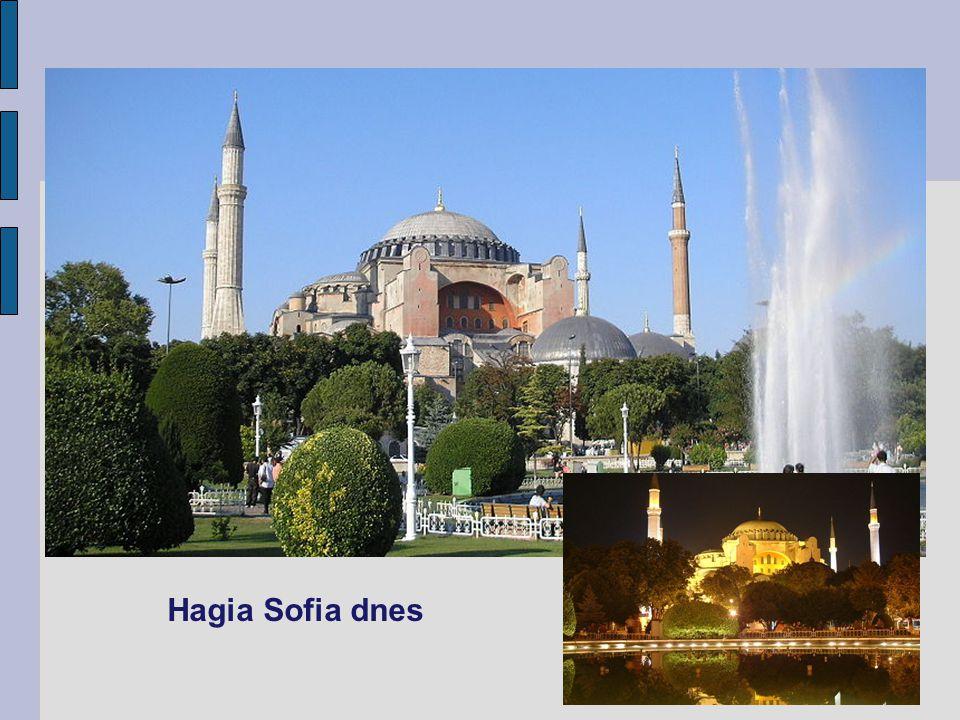 Hagia Sofia dnes