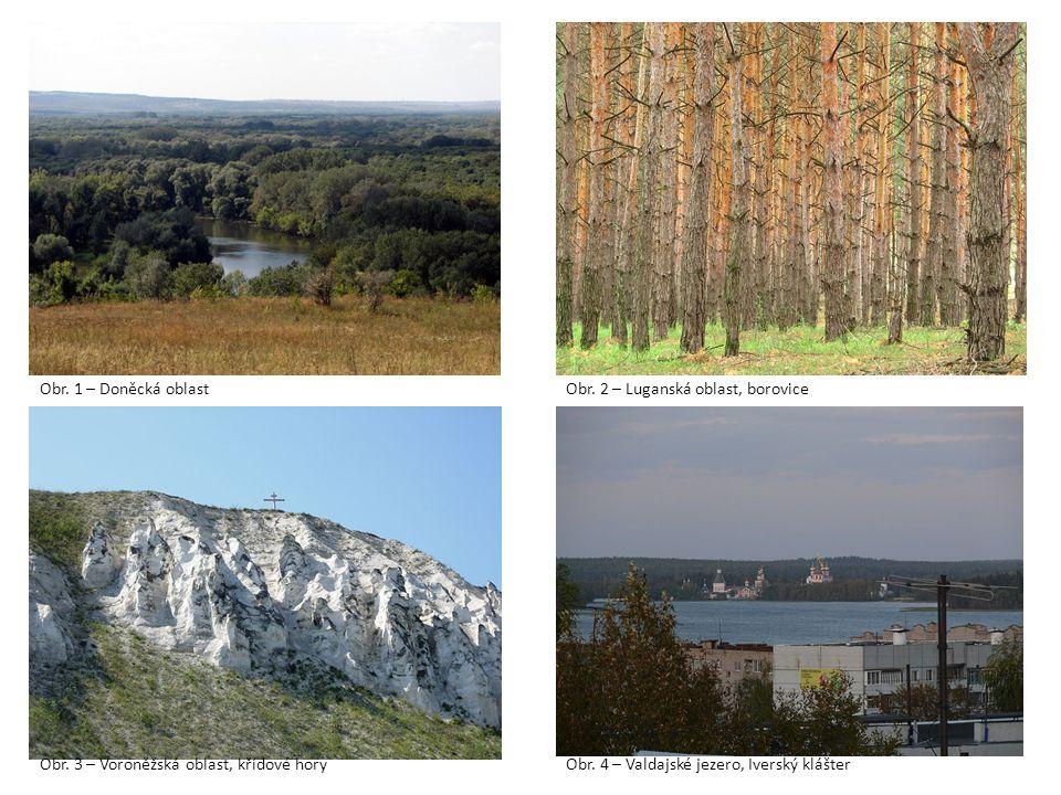 Obr.1 – Doněcká oblastObr. 2 – Luganská oblast, borovice Obr.