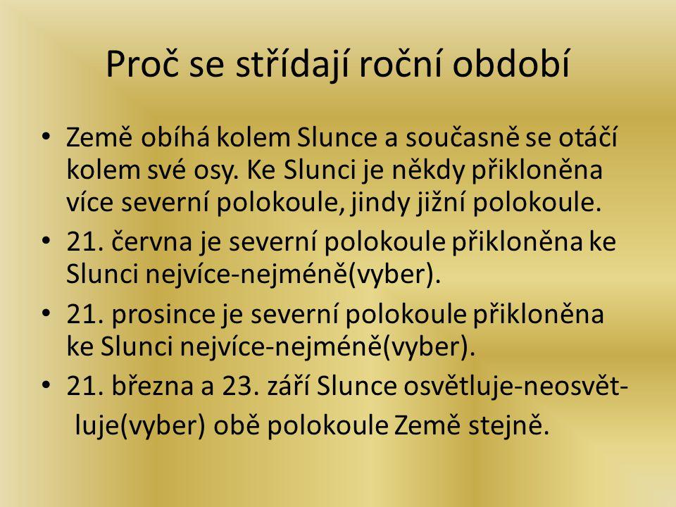 Tajenka Vylušti, co u nás může nastat na jaře a na podzim: 1.365 dní..