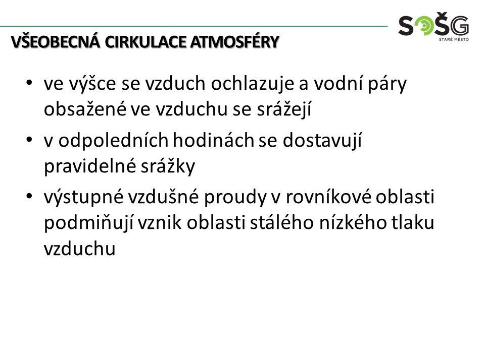 OPAKOVÁNÍ OPAKOVÁNÍ Vysvětli pojem Coriolisova síla. Co je to všeobecná cirkulace atmosféry?