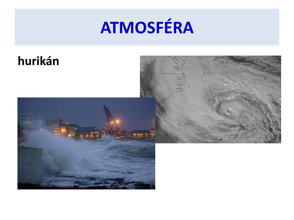 ATMOSFÉRA hurikán