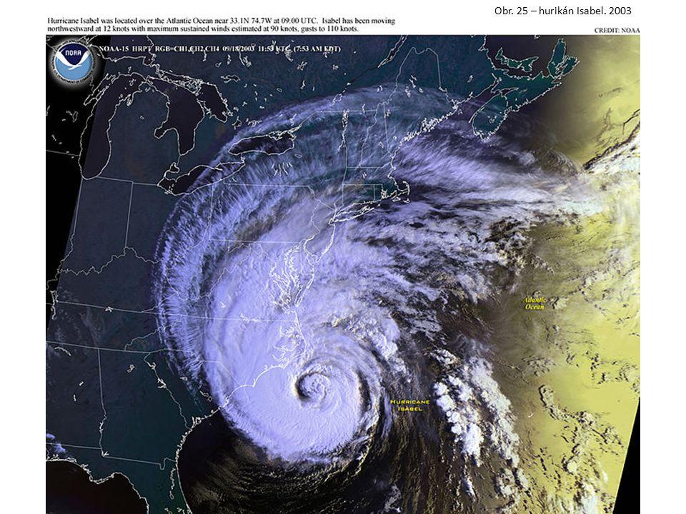 Obr. 25 – hurikán Isabel. 2003