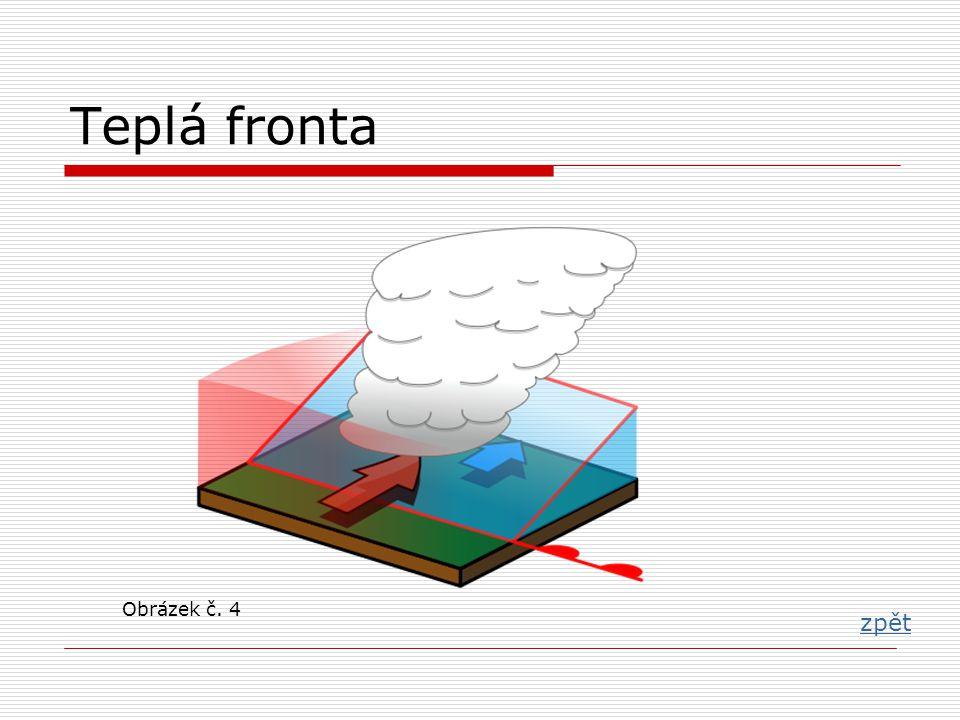 Teplá fronta zpět Obrázek č. 4