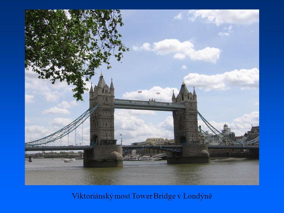 Viktoriánský most Tower Bridge v Londýně