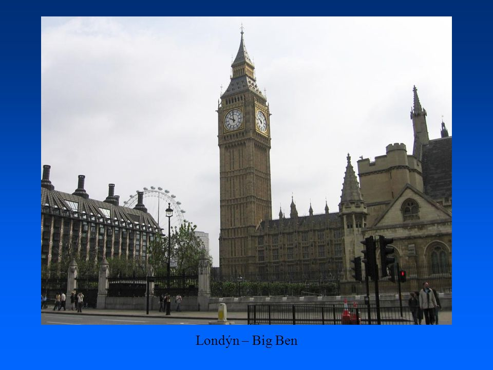 Londýn – Big Ben