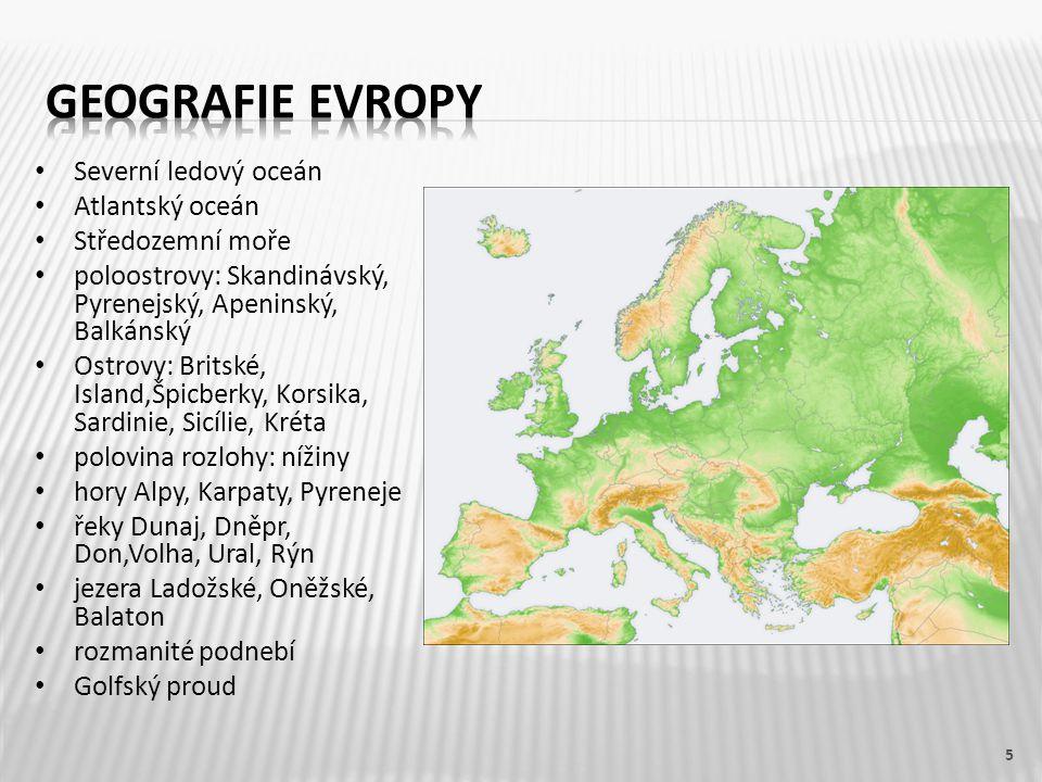 6 Naši sousedé: Německo, Rakousko, Slovensko, Polsko