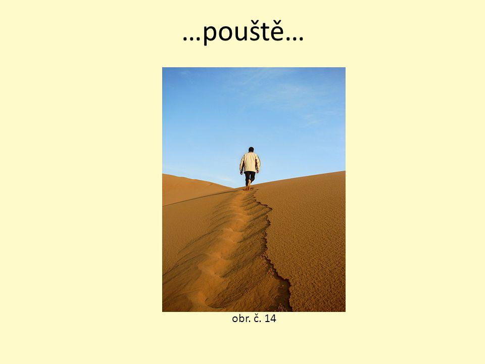 …pouště… obr. č. 14