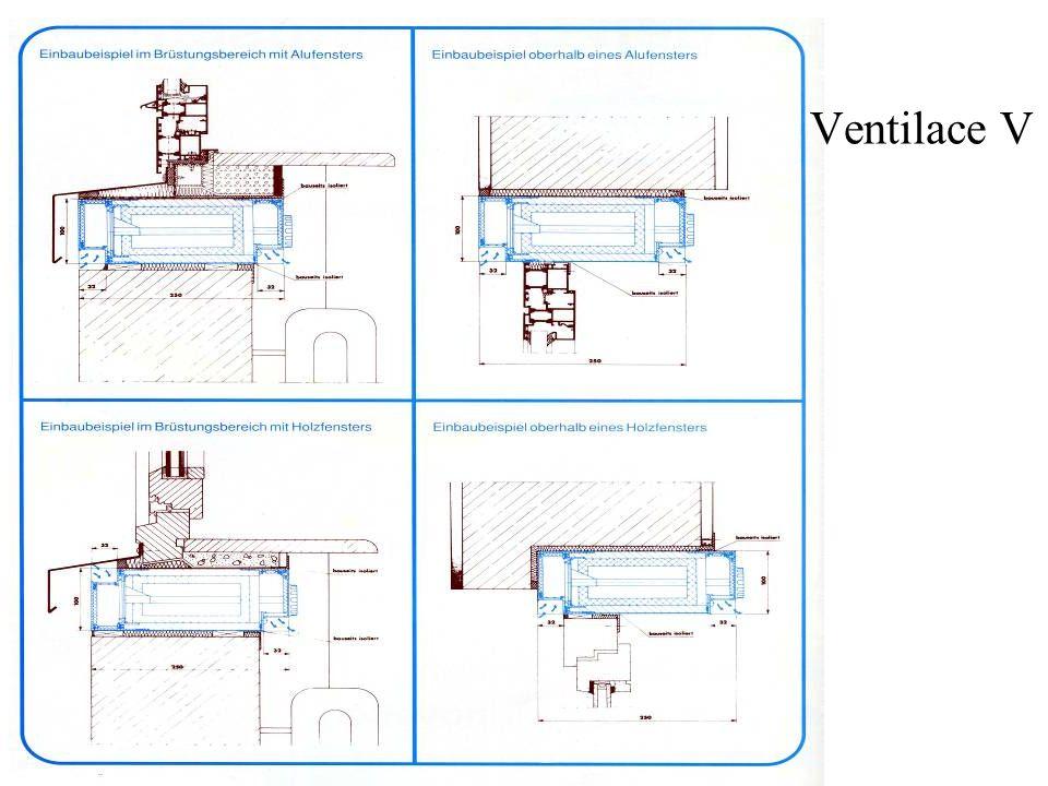 Ventilace V