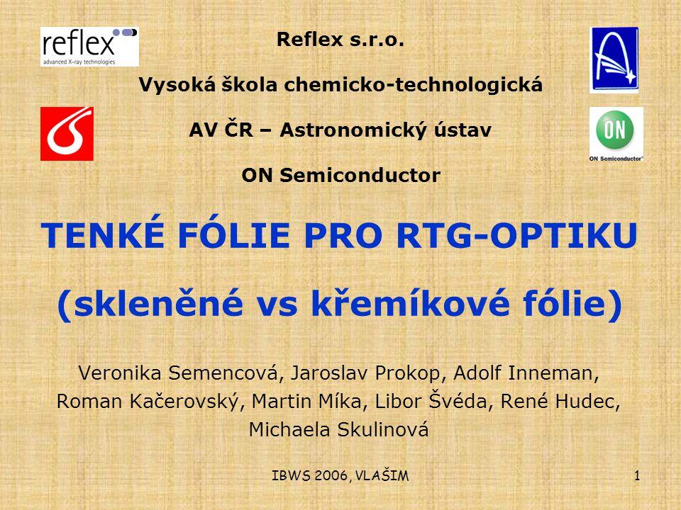 IBWS 2006, VLAŠIM1 Reflex s.r.o.