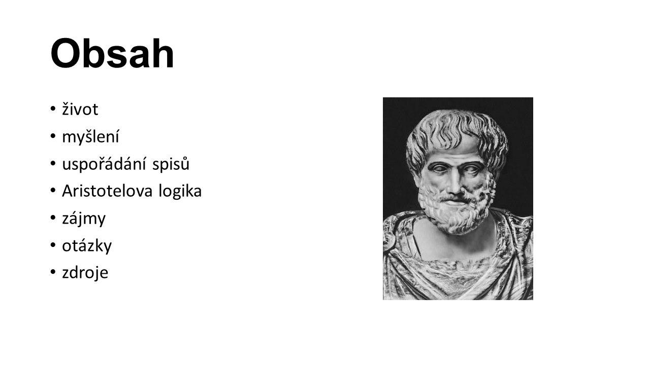 Život 384 př.n. l. – 322 př. n. l.
