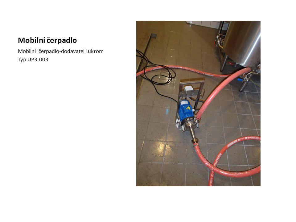 Mobilní čerpadlo Mobilní čerpadlo-dodavatel Lukrom Typ UP3-003