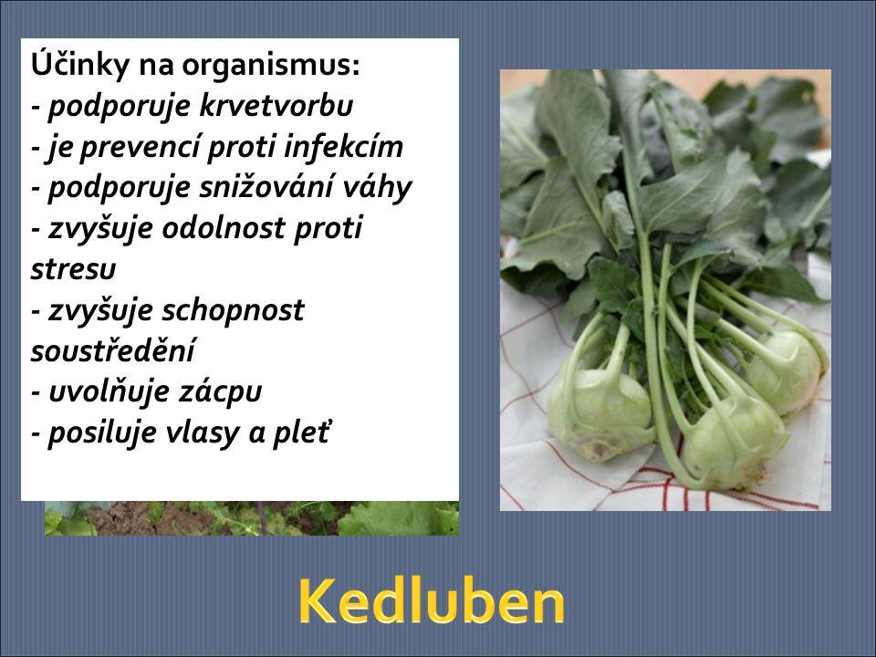 100 g květáku obsahuje doporučenou denní dávku vitaminu C.