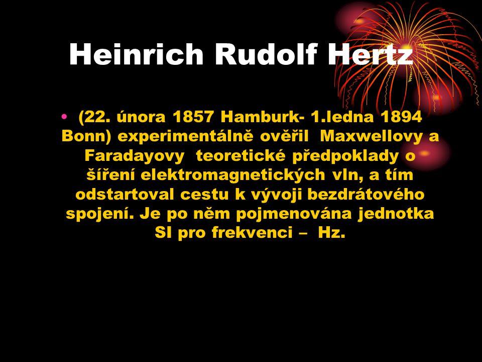 Heinrich Rudolf Hertz (22.