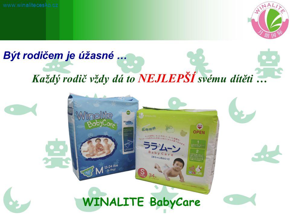 Být rodičem je úžasné … Každý rodič vždy dá to NEJLEPŠÍ svému dítěti … WINALITE BabyCare www.winalitecesko.cz