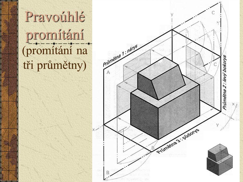 Úlohy – rohové spoje rámů v promítání na tři průmětny Úloha 8.4 – 4 Vlys s rozporem pro spoj čepovaný na jednostranný pokos nakreslete ze tří pohledů a okótujte ho .