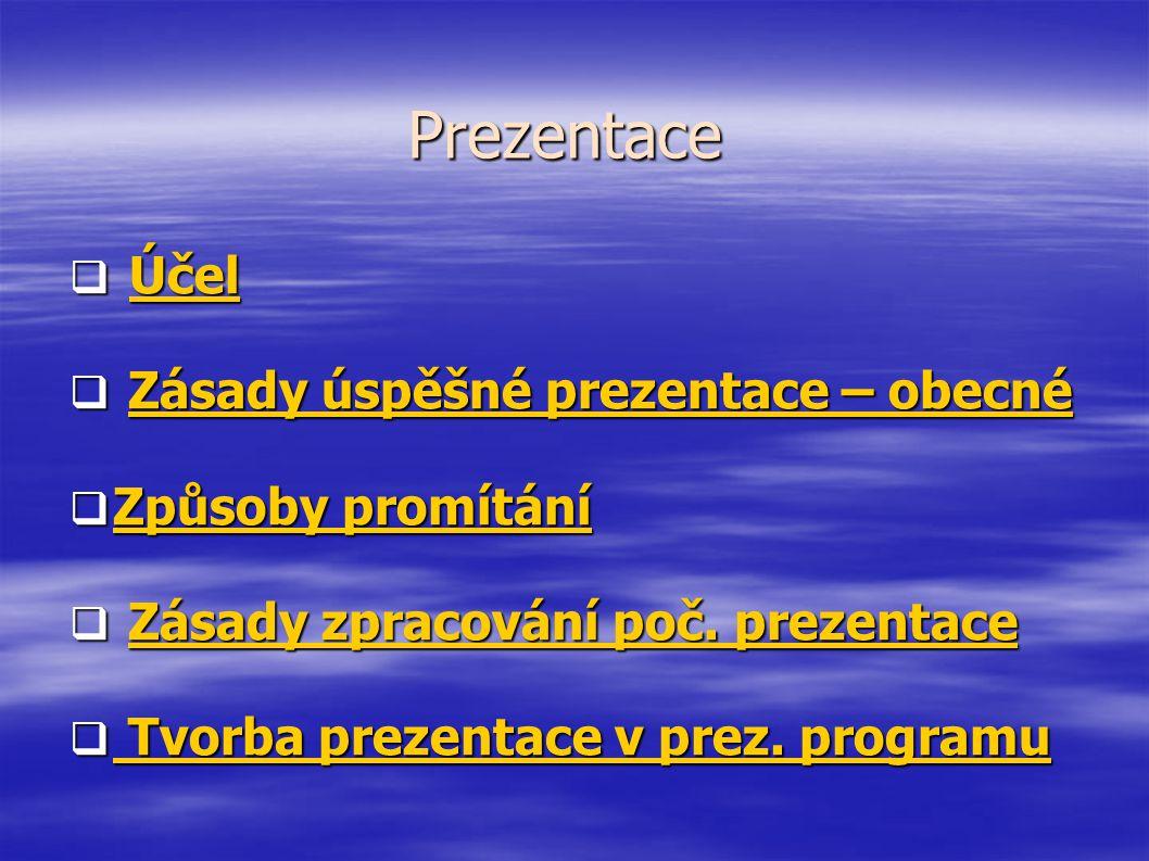 ZŠ Jiráskova Benešov www.zsjiraskova.cz Jak na Prezentace? Power Point