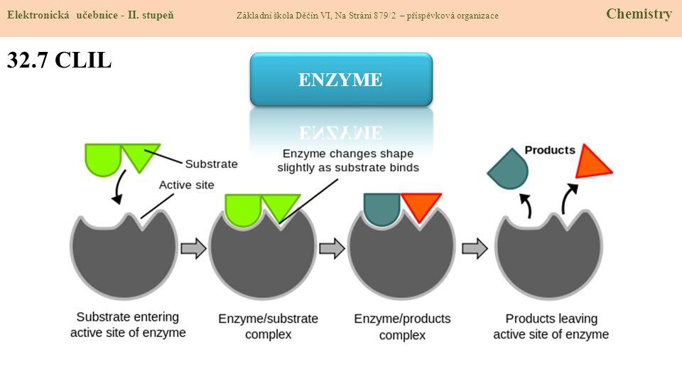 32.8 Test znalostí Správné odpovědi: 1.Co jsou enzymy.
