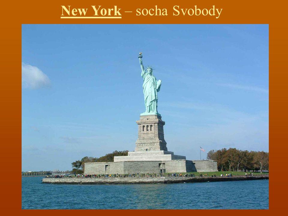 New York – socha Svobody