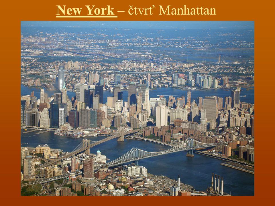 New York – čtvrť Manhattan