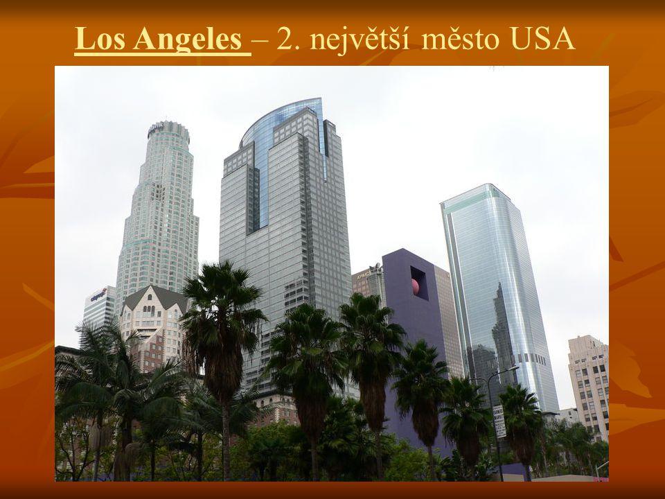 Los Angeles – 2. největší město USA