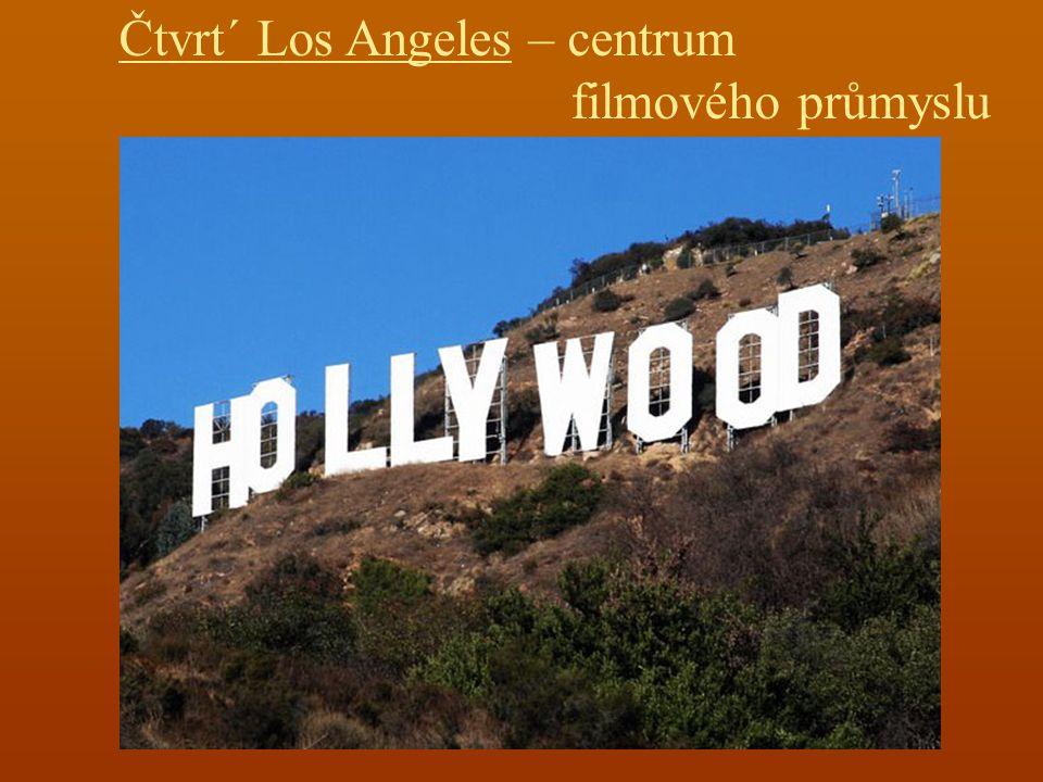 Čtvrt´ Los Angeles – centrum filmového průmyslu
