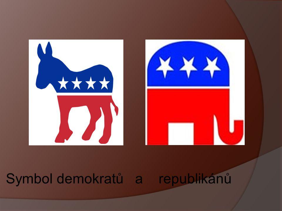 Symbol demokratů a republikánů