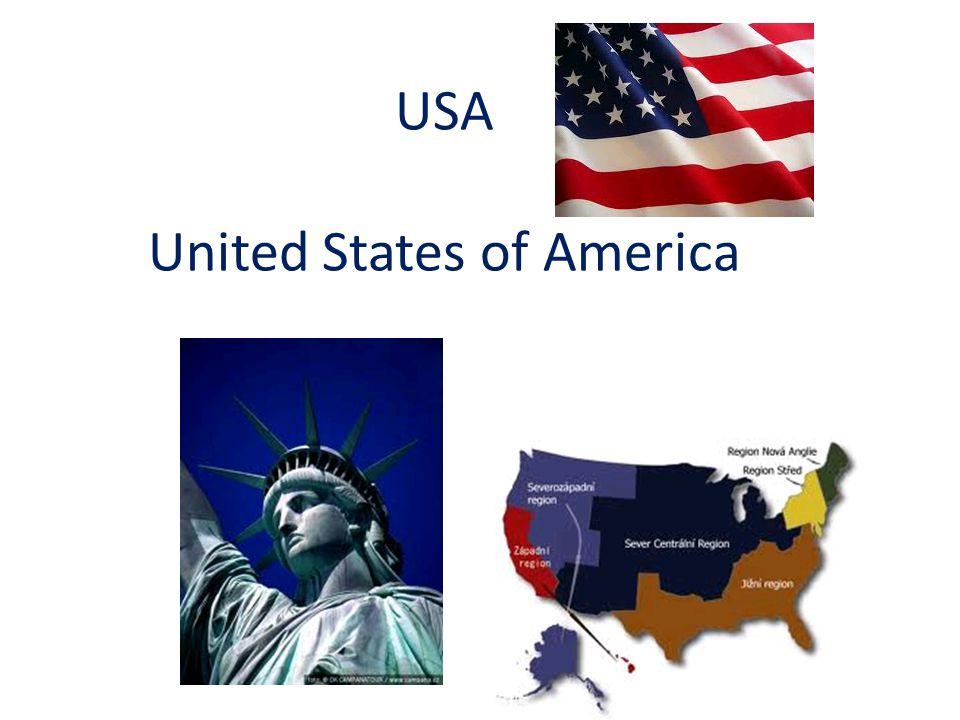 Zjisti o USA z atlasu Jaká je poloha USA.Jaká je rozloha USA.