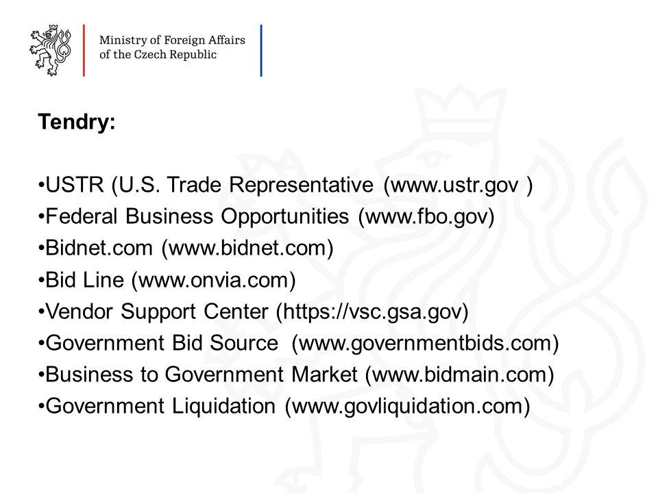 Tendry: USTR (U.S.