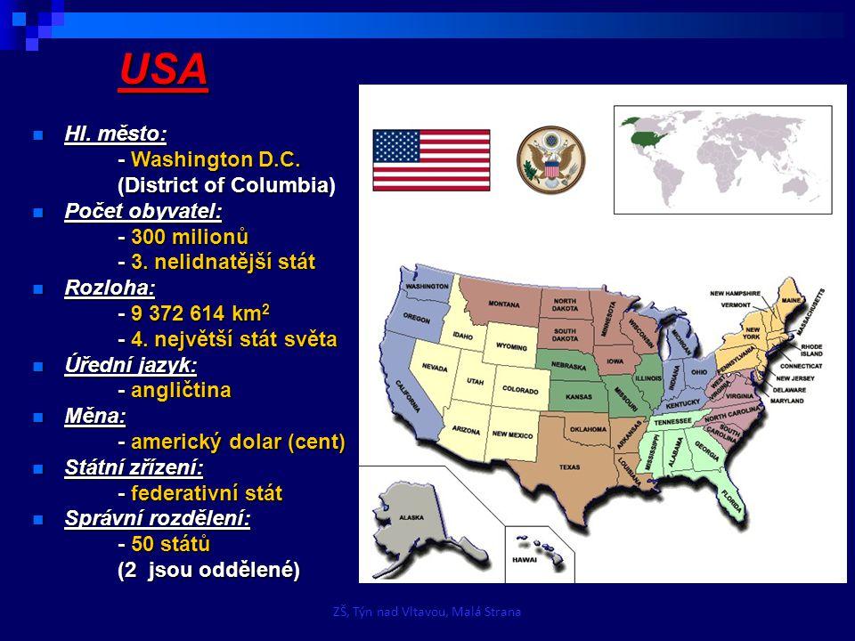 USA Historie: Historie: - Po objevení kontinentu Krištofem Kolumbem se Severní Amerika stala cílem kolonizace Španělska, Nizozemska a Francie, ale pro historii budoucích USA měla největší význam anglická kolonizace atlantského pobřeží.