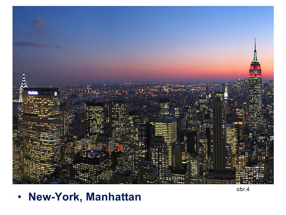 obr.4 New-York, Manhattan