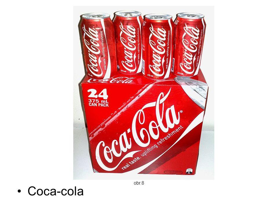 obr.8 Coca-cola