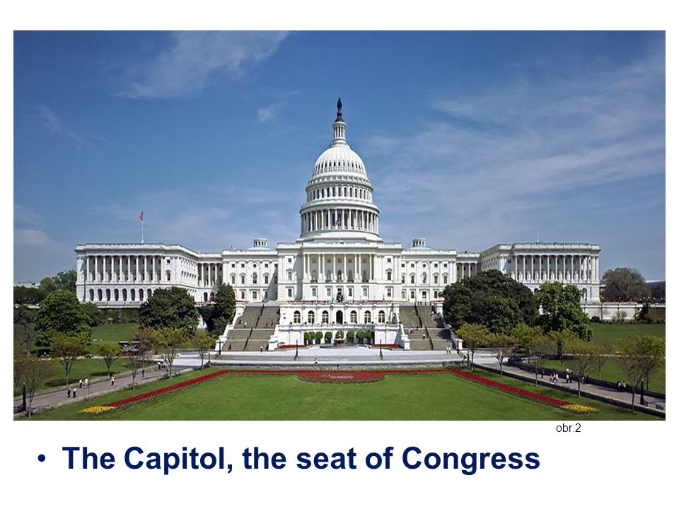 obr.2 The Capitol, the seat of Congress