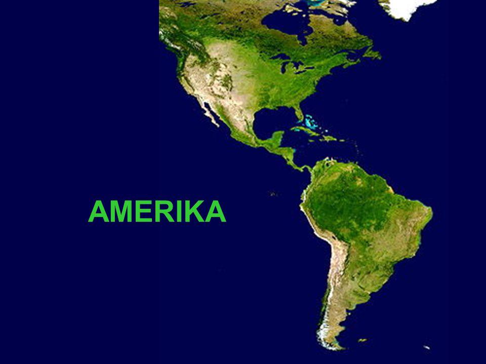 Poloha a rozloha Amerika je největší světadíl západní polokoule a 2.