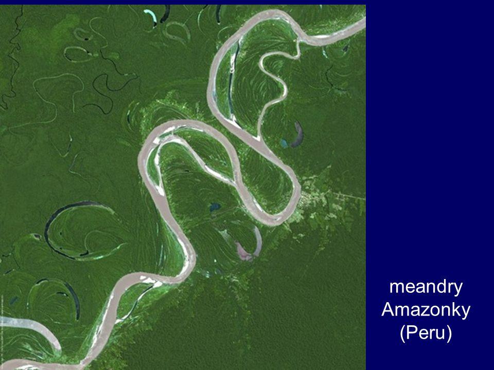 meandry Amazonky (Peru)
