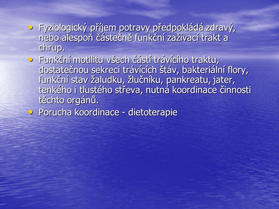 Diety s omezením tuku, šetřící, lehce stravitelné, nenadýmavé Dieta č.4 Složení diety: Energie: 9500 KJ, 80g bílkovin, 55g tuků, 360g sacharidů Složení diety: Energie: 9500 KJ, 80g bílkovin, 55g tuků, 360g sacharidů Indikace: u nemocných v pokročilém stadiu rekonvalescence jako přechod z diety 4s, u chronické pankreatitidy hepatitidy a cholecystitidy Indikace: u nemocných v pokročilém stadiu rekonvalescence jako přechod z diety 4s, u chronické pankreatitidy hepatitidy a cholecystitidy Dieta s omezením tuku, nedráždivá, plnohodnotná, obsah bílkovin a sacharidů je fyziologický, obsah tuků je snížený Dieta s omezením tuku, nedráždivá, plnohodnotná, obsah bílkovin a sacharidů je fyziologický, obsah tuků je snížený
