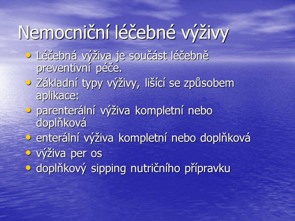 Použitá literatura Kolektiv: Manuál prevence v lékařské praxi I.- Prevence poruch a nemocí, SZÚ- Program podpory a obnovy zdraví, Praha, 1995, 141 stran Kolektiv: Manuál prevence v lékařské praxi II.- Výživa, SZÚ- Program podpory a obnovy zdraví, Praha, 1995, 104 stran Kolektiv: Manuál prevence v lékařské praxi IV.- Základy prevence infekčních onemocnění, SZÚ- Národní program zdraví, Praha, 1996, 127 stran Keller U., Meier R., Bertoli S.: Klinická výživa, Scientia medica, Praha, 1993, 240 stran Turek B., Hrubý S., Černá M.: Nutriční toxikologie, ILF Brno, 1994, 123 stran Hainer V., Kunešová M.