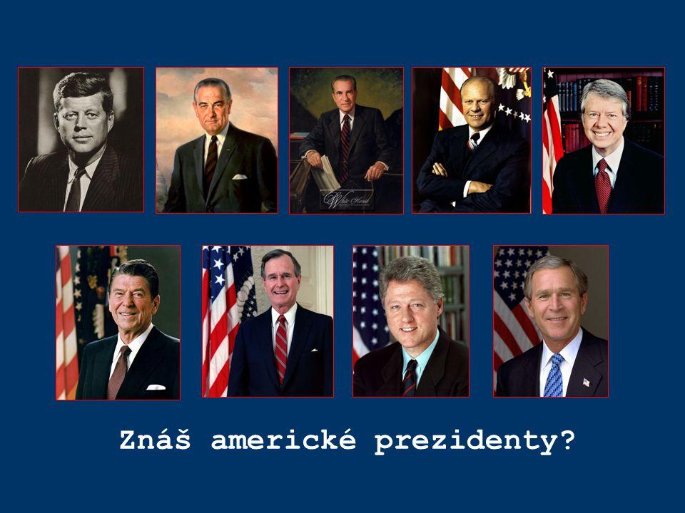 Znáš americké prezidenty?